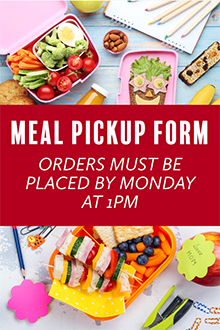Meal Pickup Form